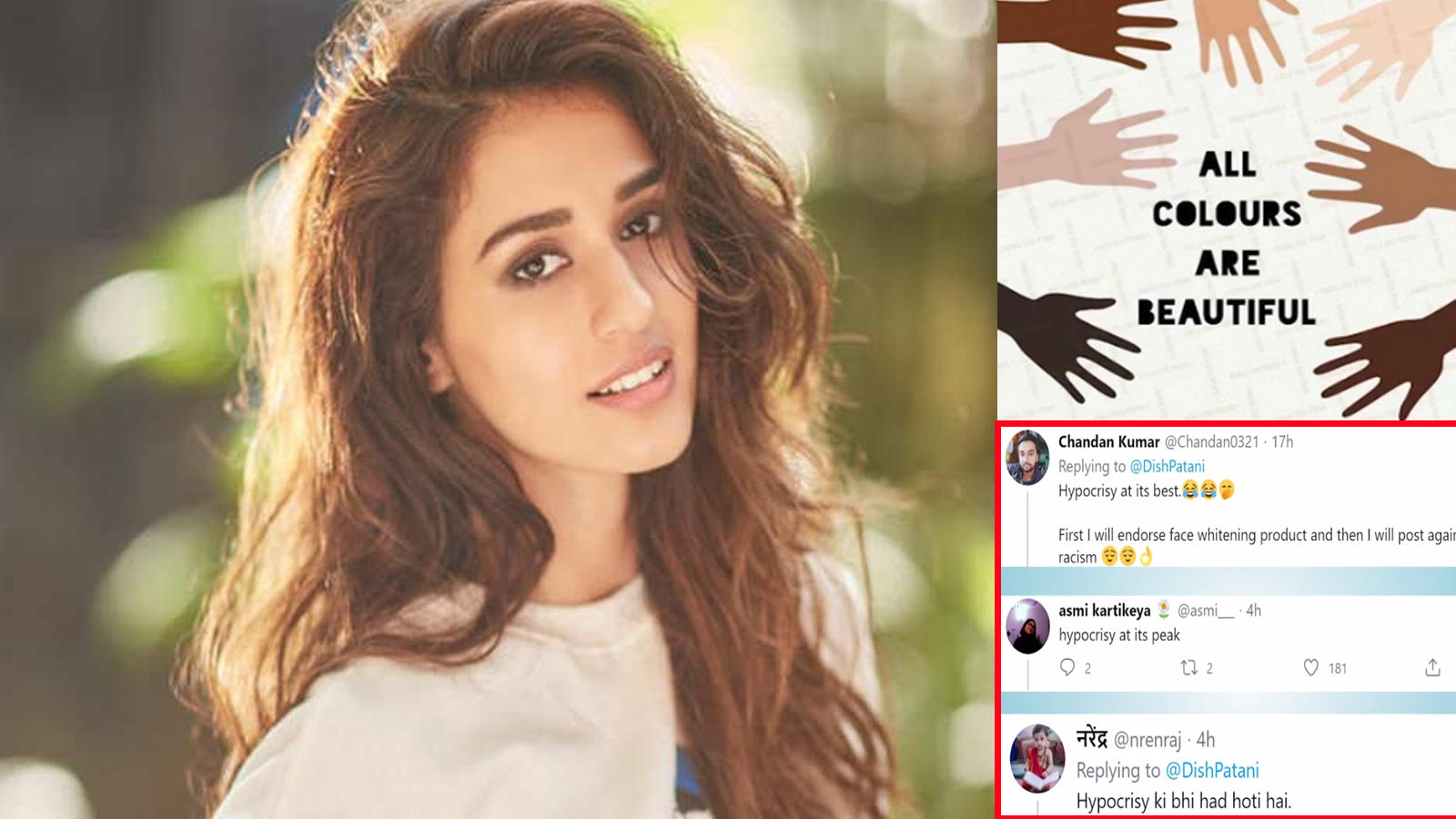 disha-patanis-post-against-racism-goes-wrong-as-netizens-dig-out-her-fairness-cream-commercial-calls-her-hypocrite