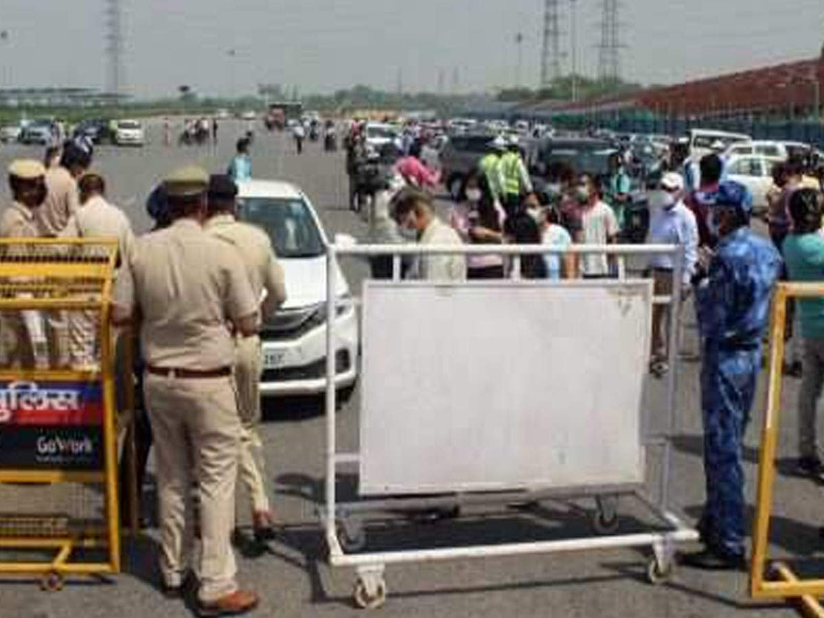 Delhi Haryana Border News Noida Border To Remain Sealed Gurugram To Open Gurgaon News Times Of India