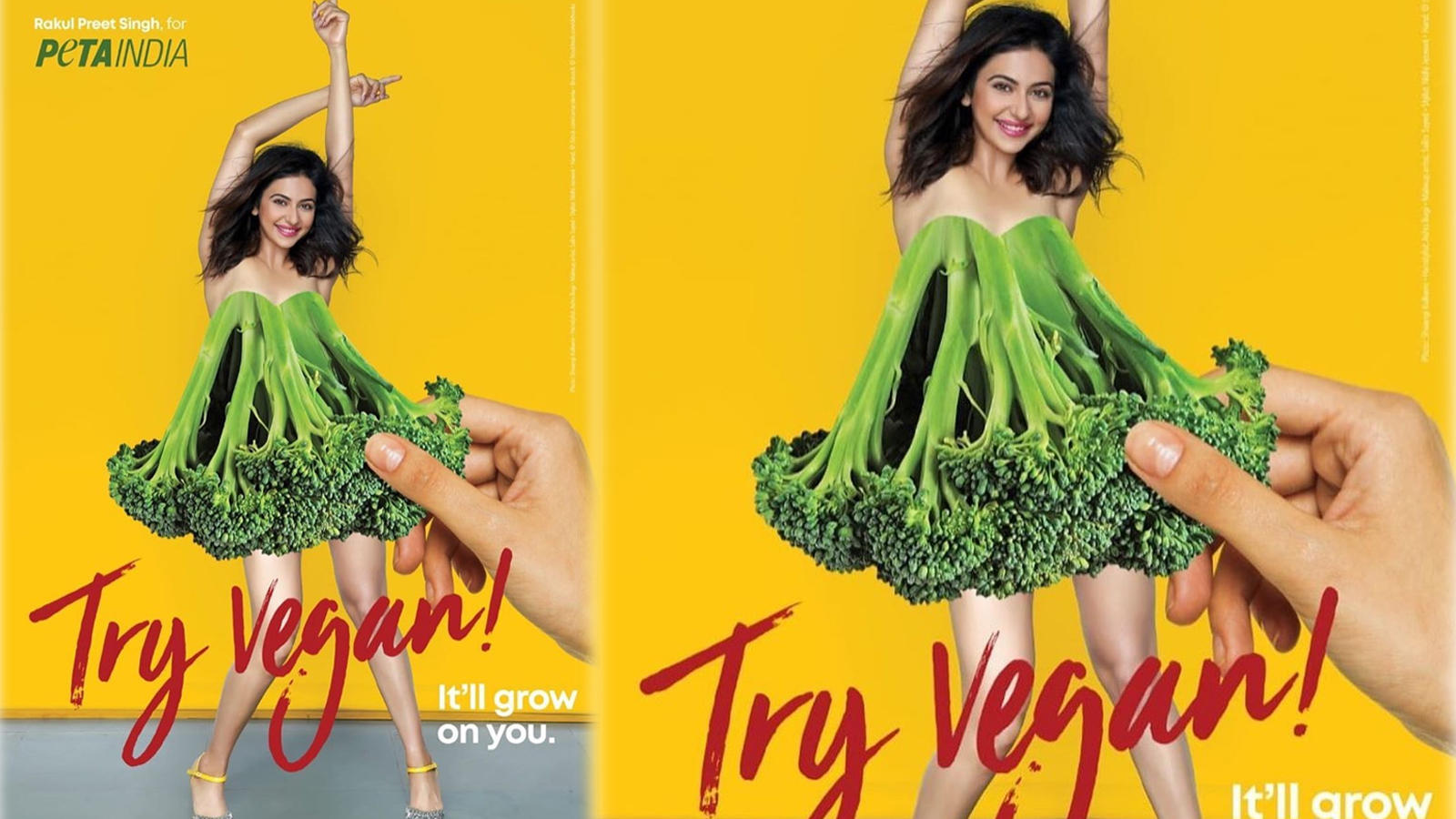 world-environment-day-rakul-preet-singh-goes-all-glam-for-peta-india-campaign-latest-pic-breaks-the-internet