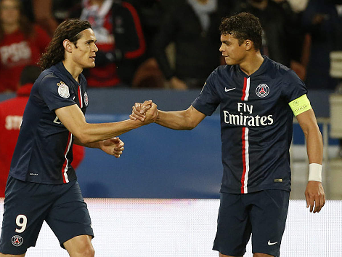 Out Of Contract Pair Thiago Silva And Edinson Cavani To Leave Psg Football News Times Of India