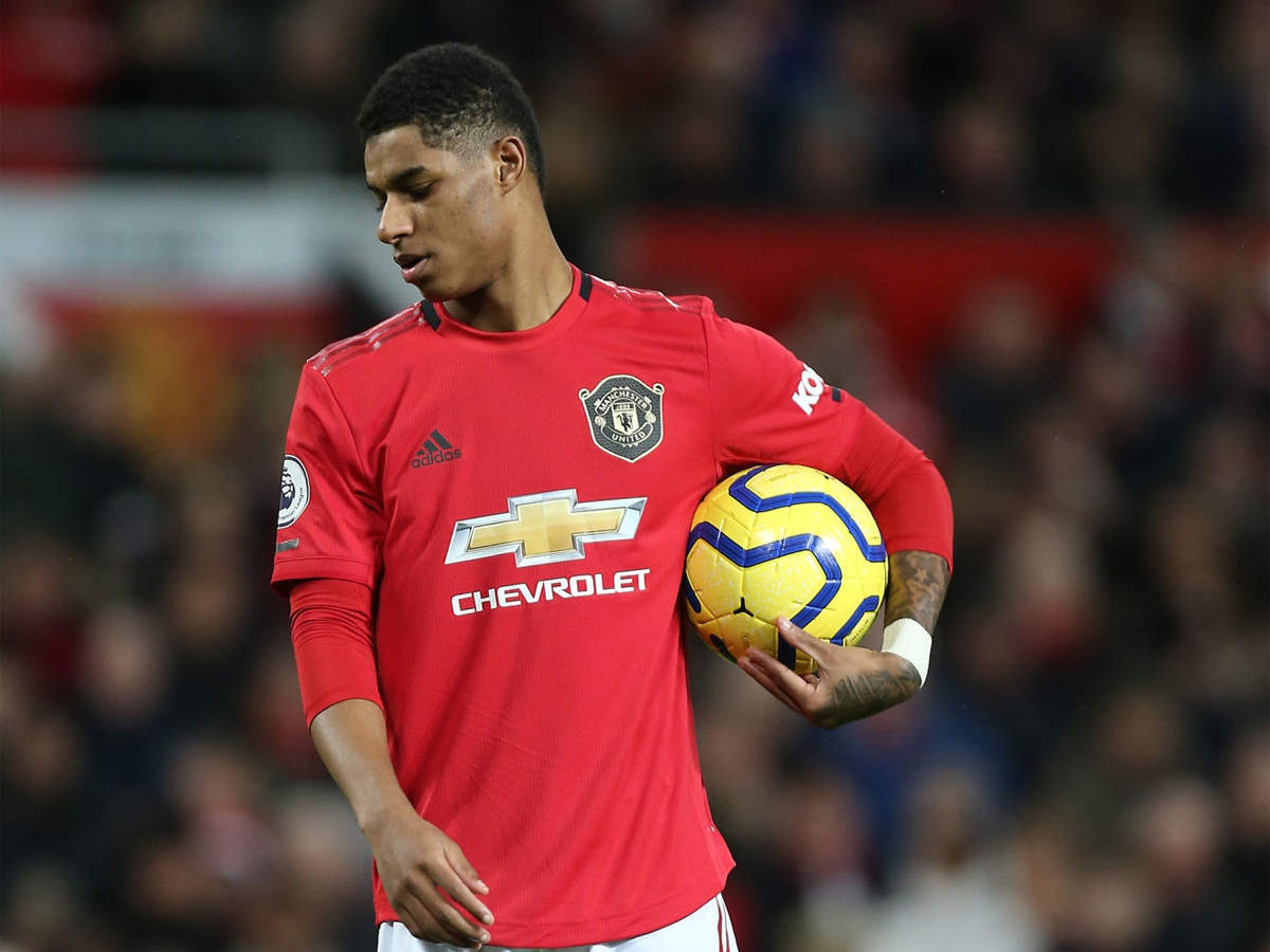 Manchester United S Marcus Rashford Steps Up Campaign Over Free Meals For Children Football News Times Of India
