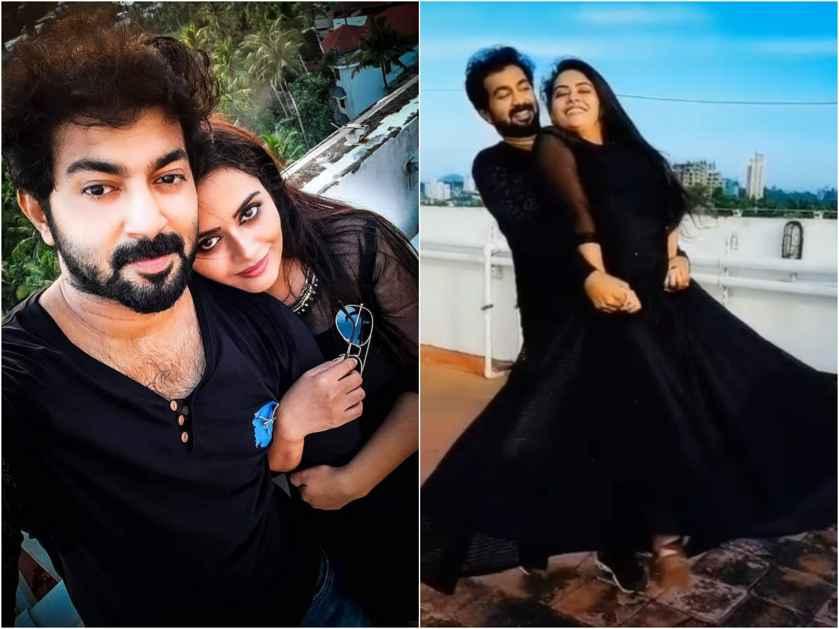 Dhanya Mary Varghese: Watch: TV couple Dhanya Mary-John leaves fans stunned with their dance moves - Times of India