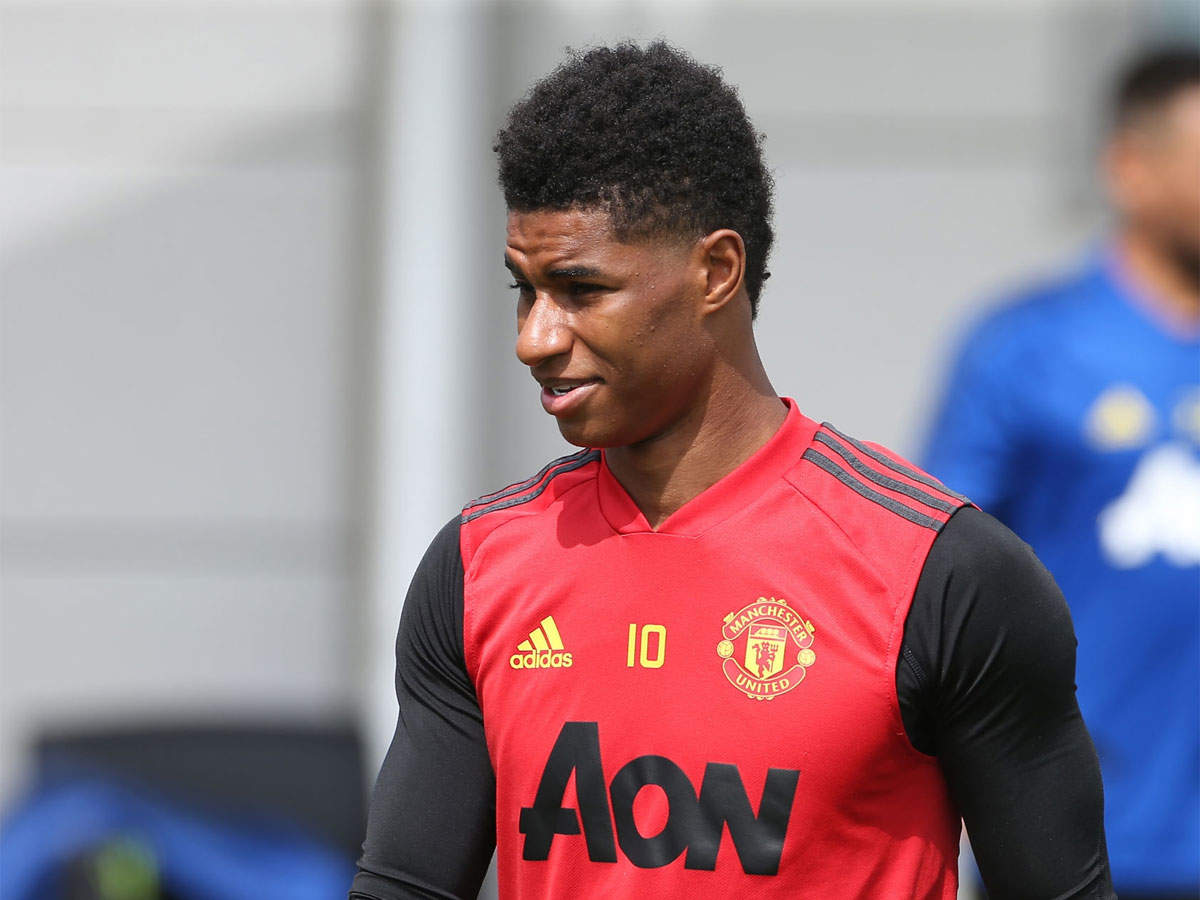 Speaking About Social Issues More Normal For Players Now Marcus Rashford Football News Times Of India