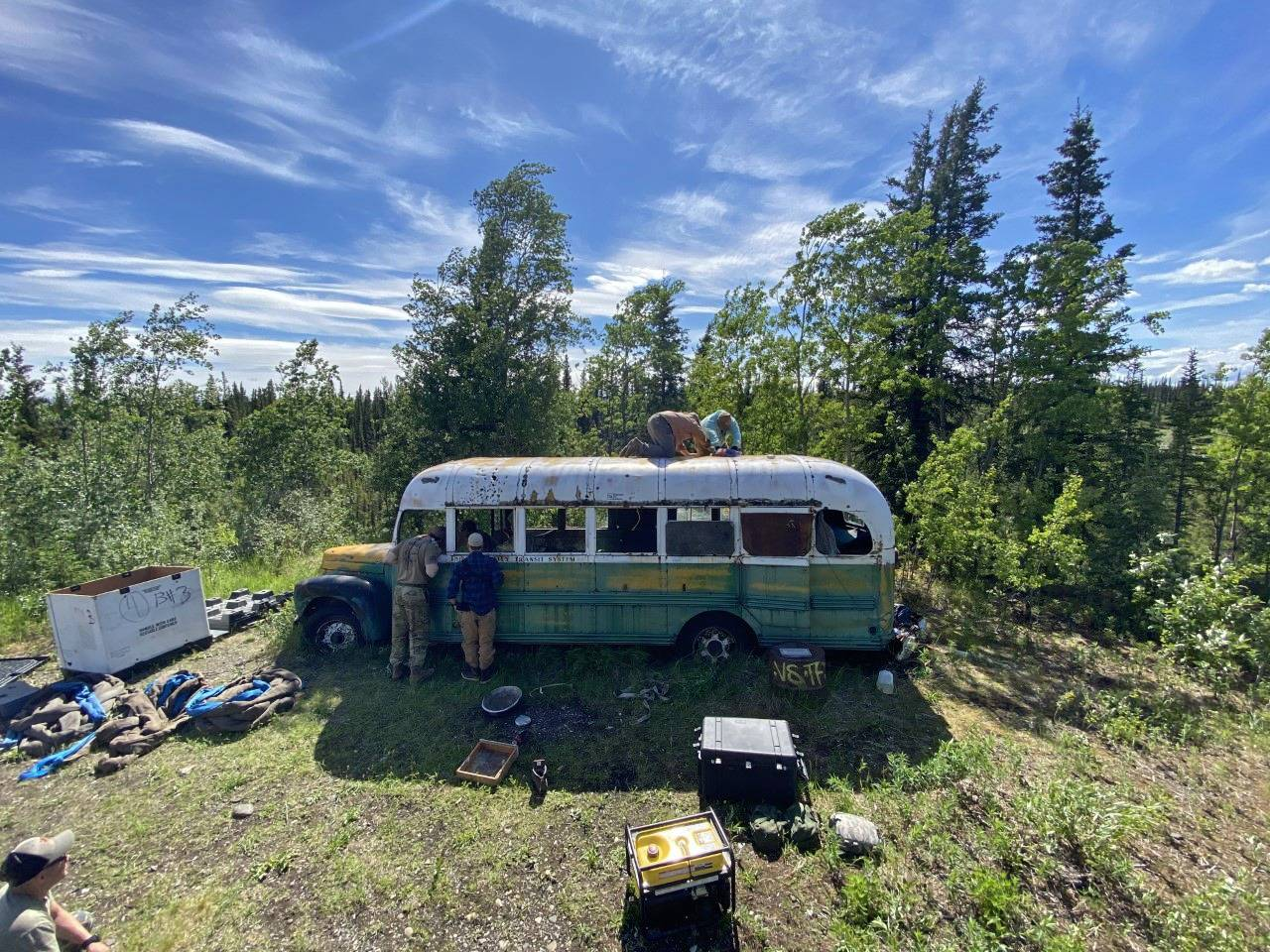 Into the Wild bus removed from the Alaskan wild, citing safety issues