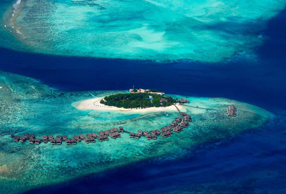 You can book this private, luxury island in Maldives for $35000 per night!