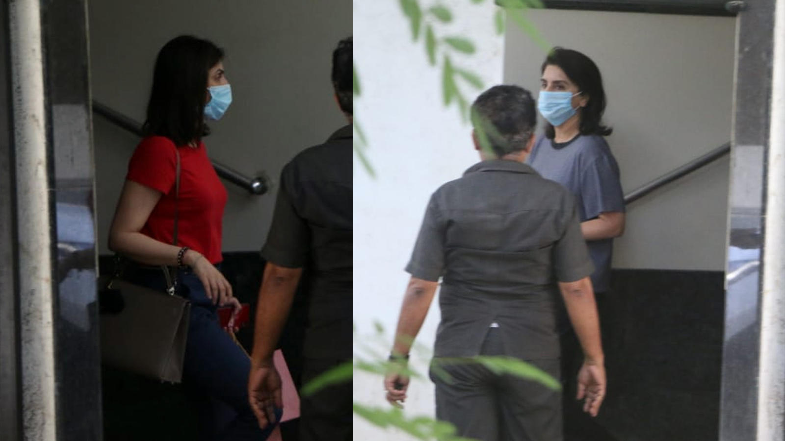 neetu-kapoor-and-riddhima-kapoor-sahni-get-papped-outside-a-clinic-in-mumbai-amid-coronaviurus-pandemic