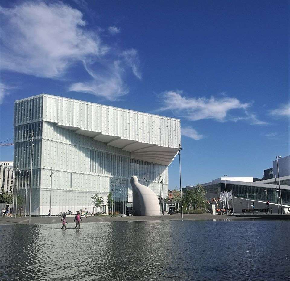 A new library in Oslo is an inspiring place for more than one reason