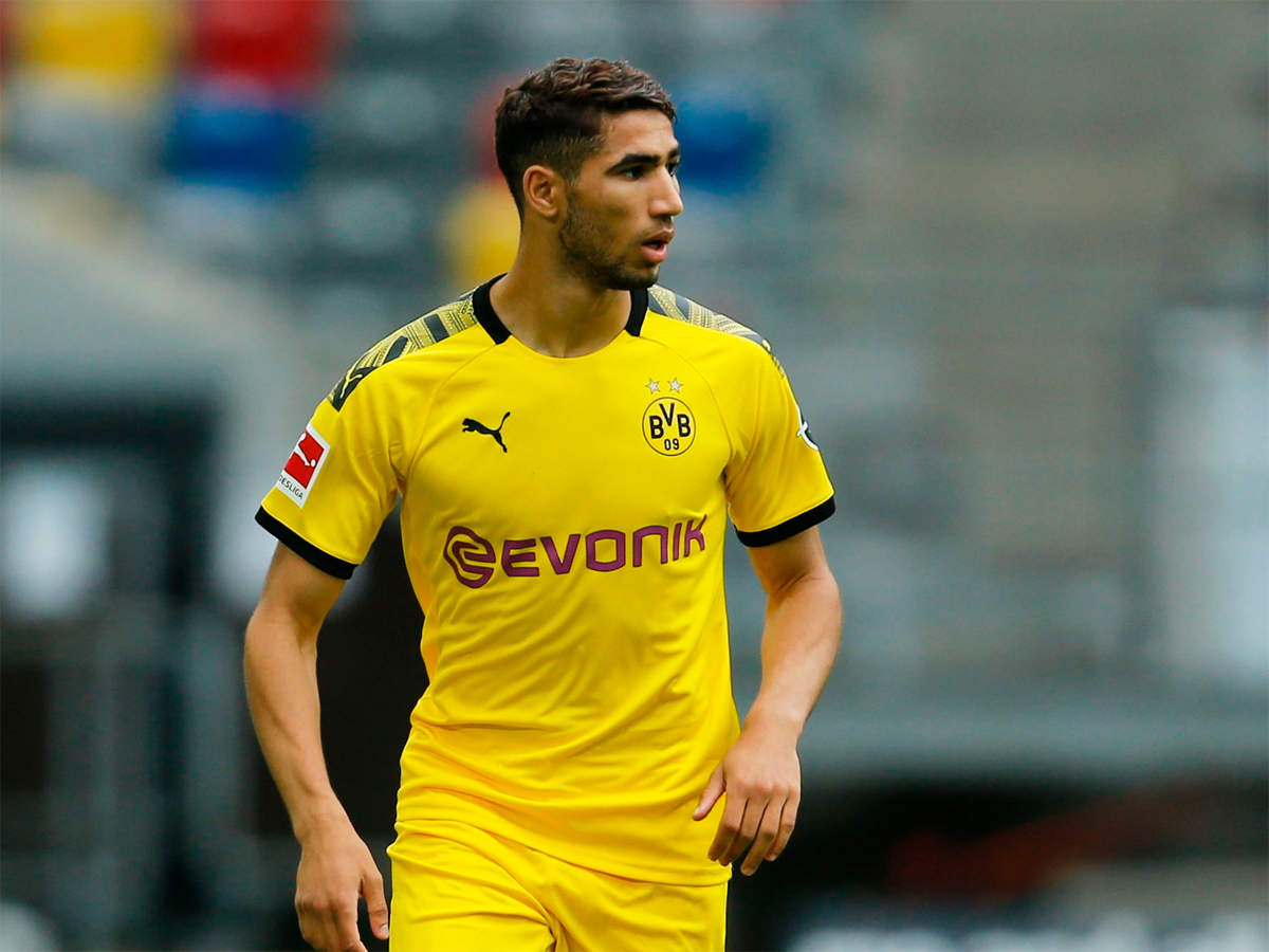 achraf hakimi joins inter milan from real madrid football news times of india achraf hakimi joins inter milan from
