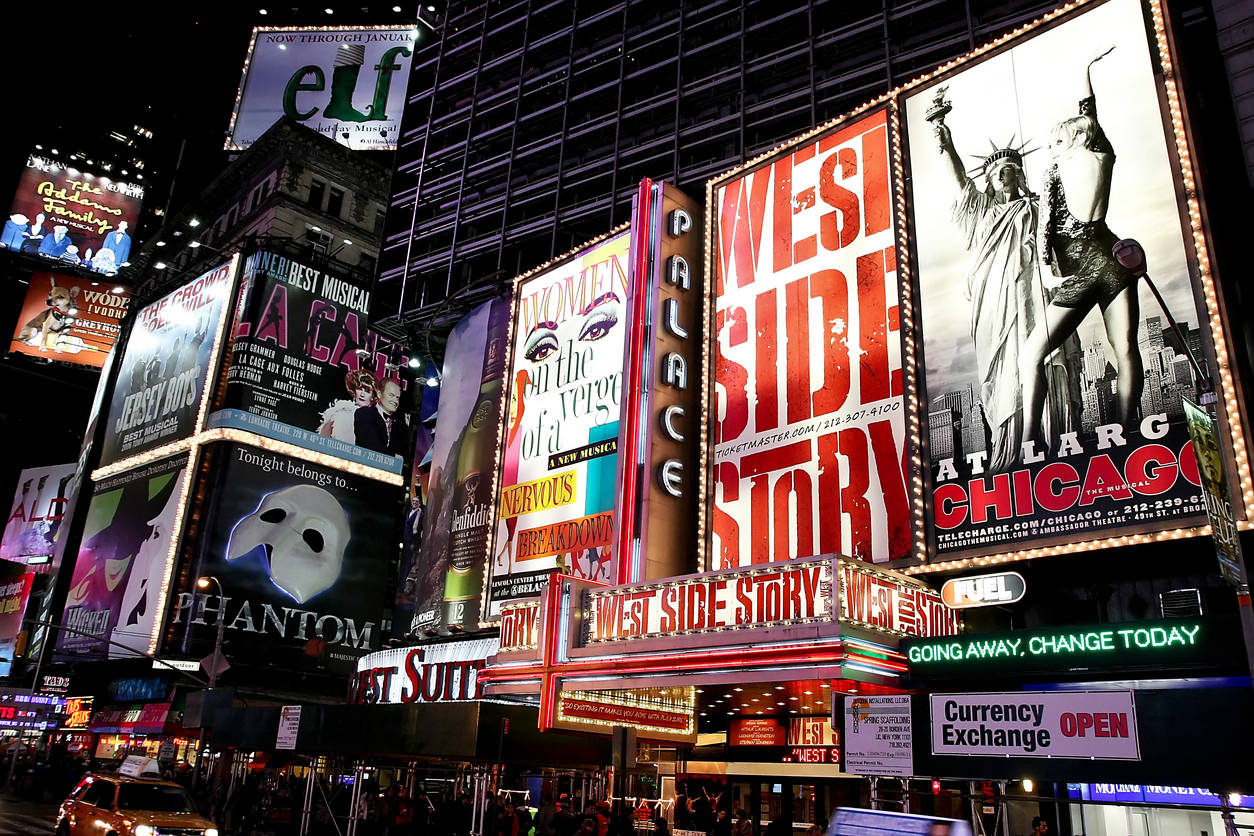 The iconic New York Broadway to remain shut for the rest of 2020