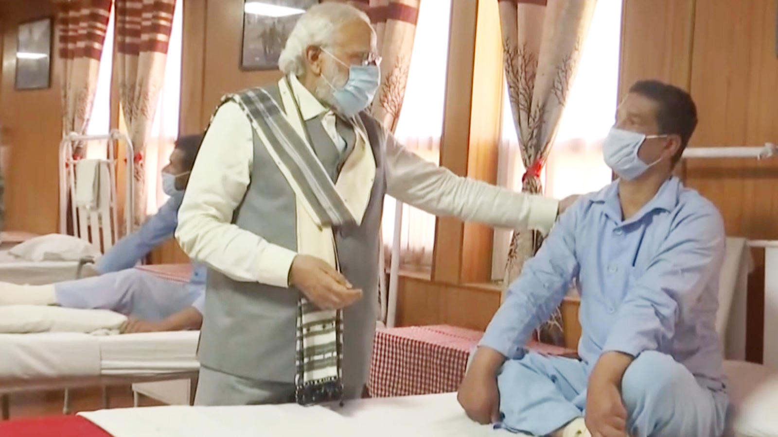 watch-pm-narendra-modi-meets-jawans-injured-in-galwan-valley-clash