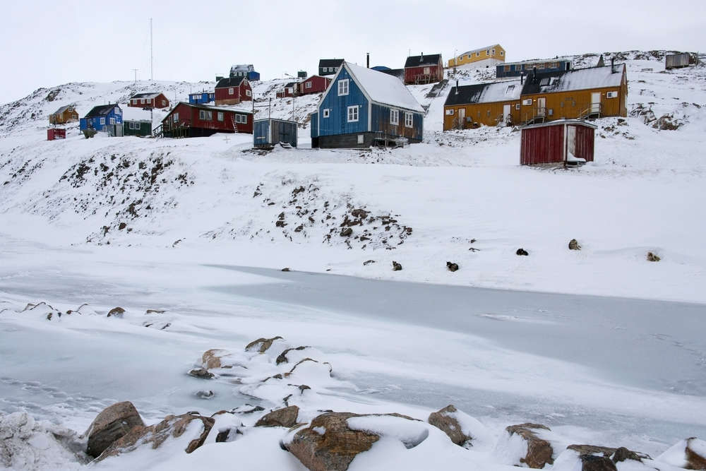 All about a remote settlement in Greenland, and the way of life for its residents