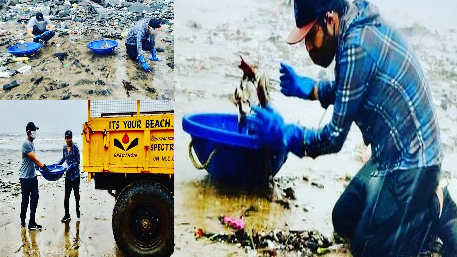 randeep-hooda-cleans-up-versova-beach-after-heavy-rainfall-in-mumbai-maintains-social-distancing