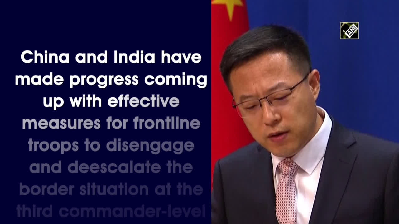 india-china-made-progress-for-frontline-troops-to-disengage-border-situation-chinese-foreign-ministry