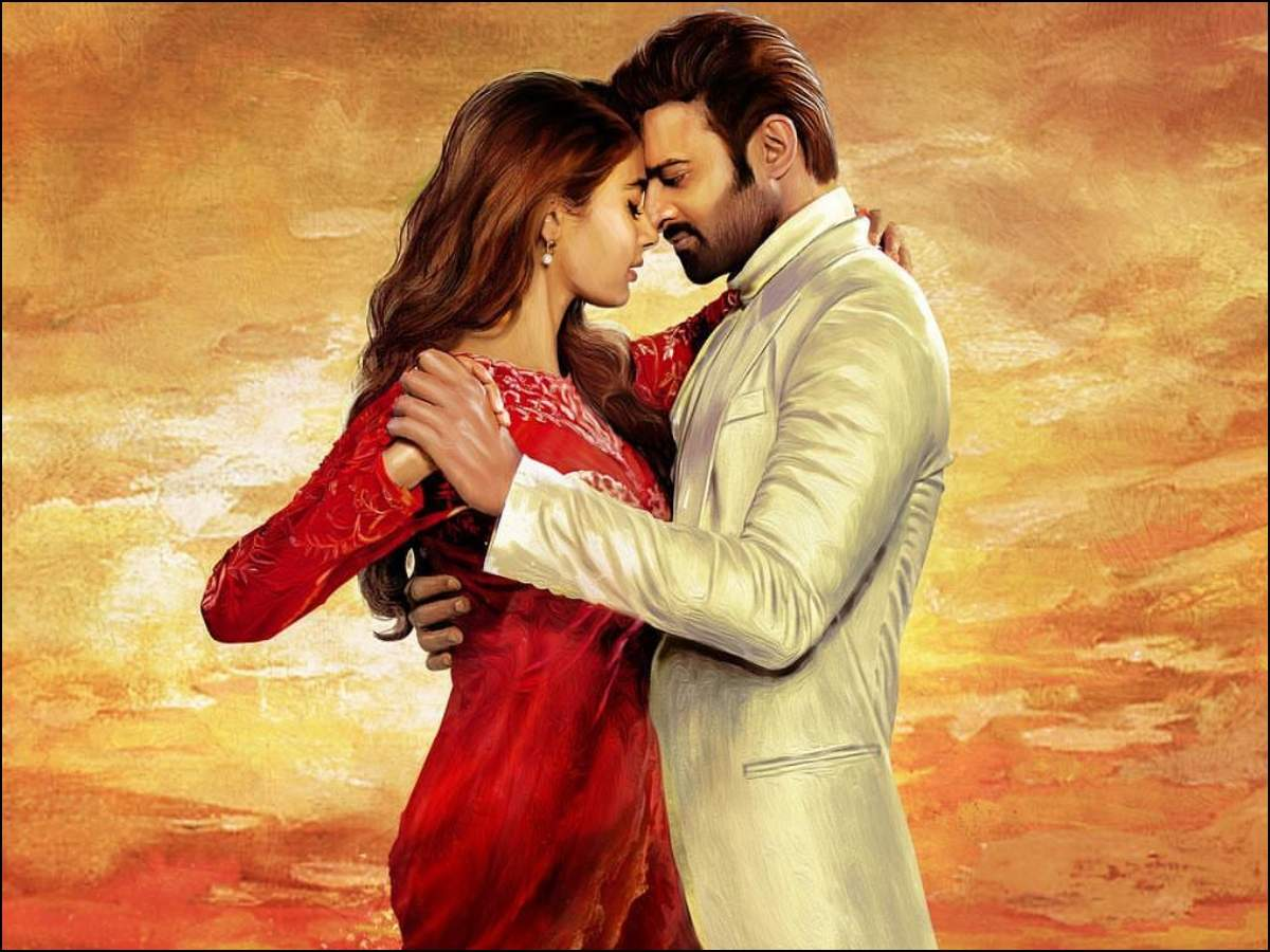 Prabhas 20 titled as 'Radhe Shyam': Prabhas and Pooja Hegde strike a  romantic pose in the first look