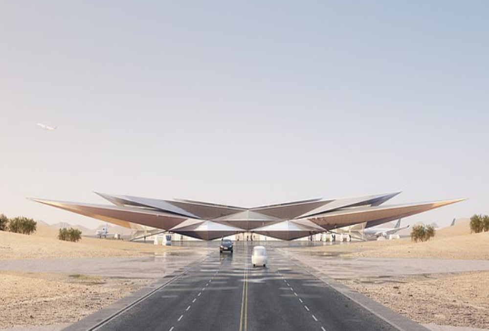 Incredible! Saudi Arabia's newest addition is an 'optical illusion' ultra-luxury airport