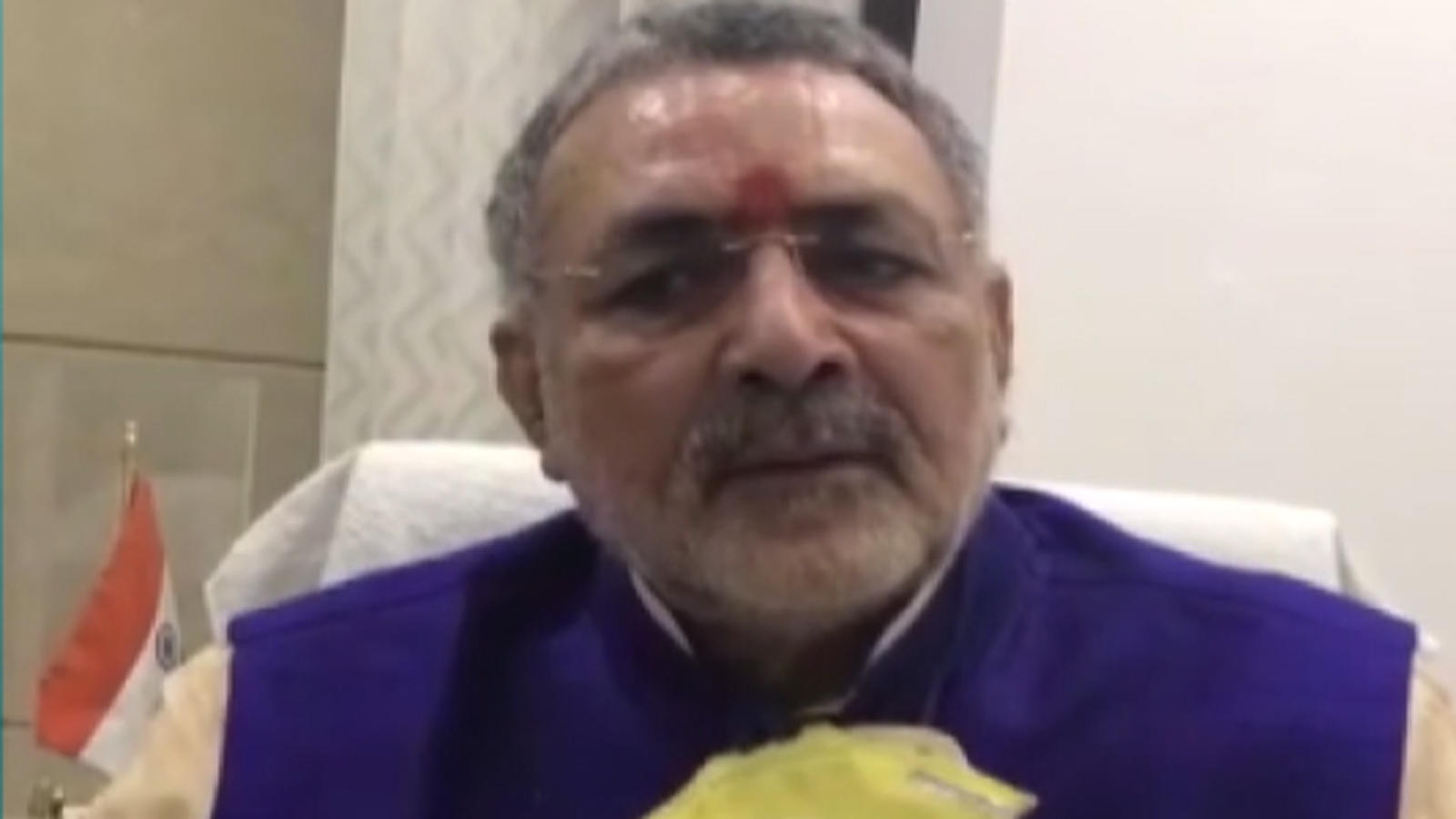 need-to-bring-population-control-act-in-india-giriraj-singh