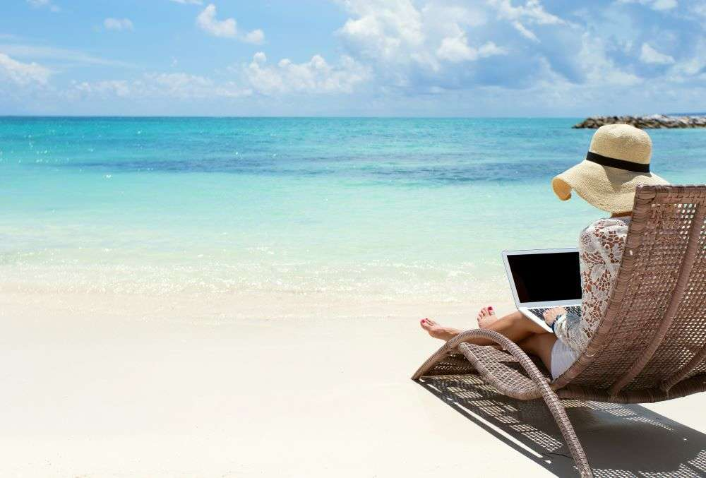 Work from beachside with this country's new visa rule