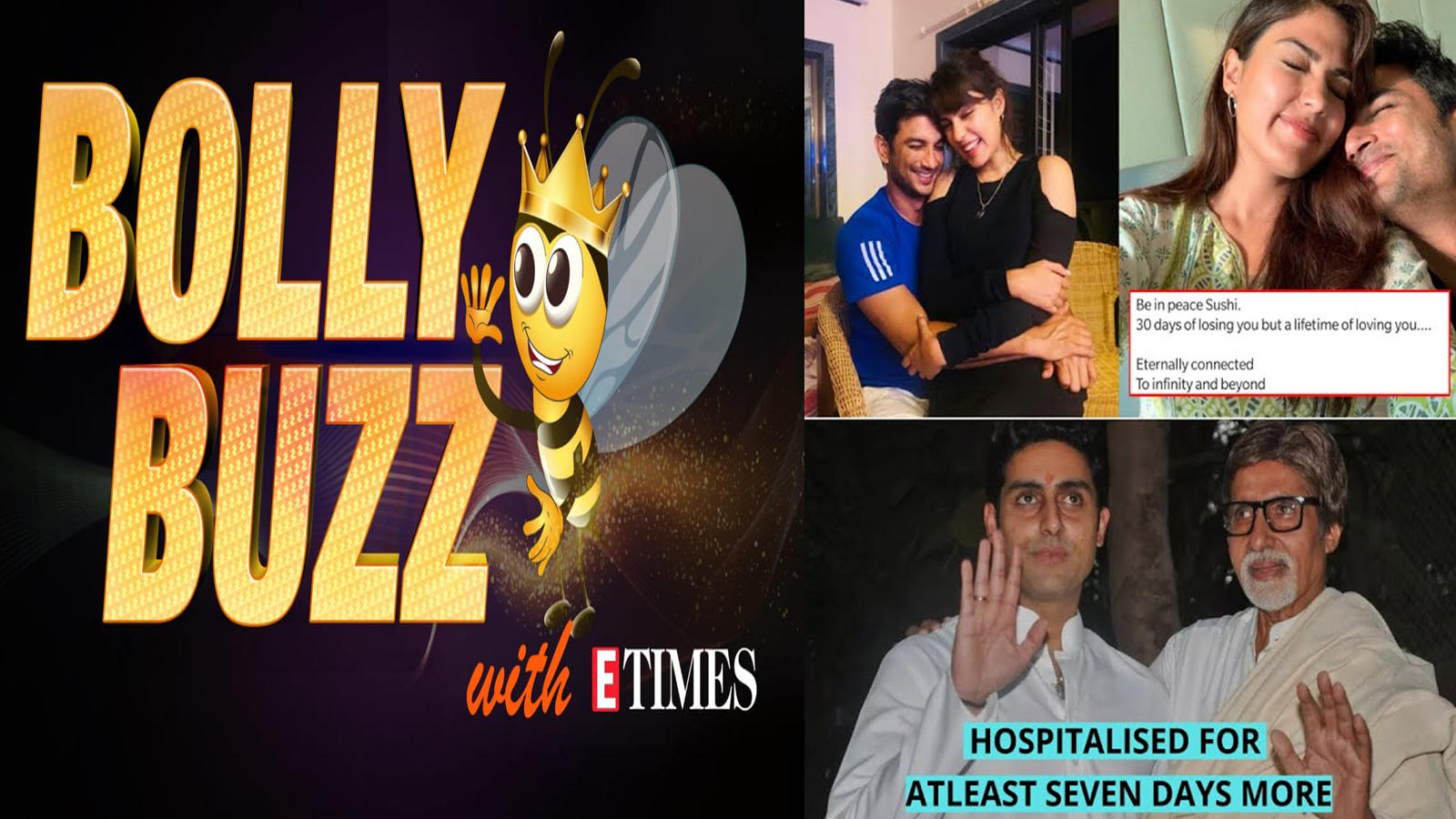 bolly-buzz-rhea-chakraborty-breaks-silence-on-sushant-singh-rajputs-demise-big-bs-health-update