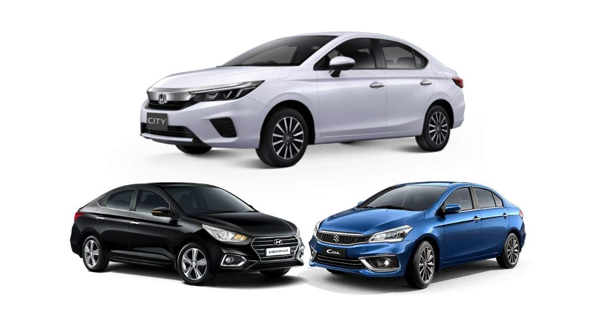 Honda City Honda City Vs Hyundai Verna Vs Maruti Suzuki Ciaz Price And Performance Times Of India