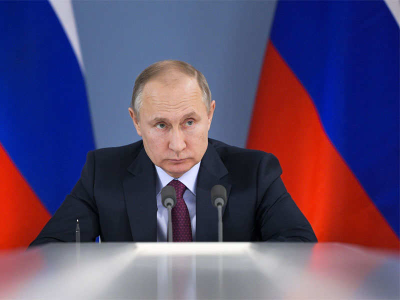 Vladimir Putin Russian President Putin Orders Massive Snap Military Drills World News Times Of India