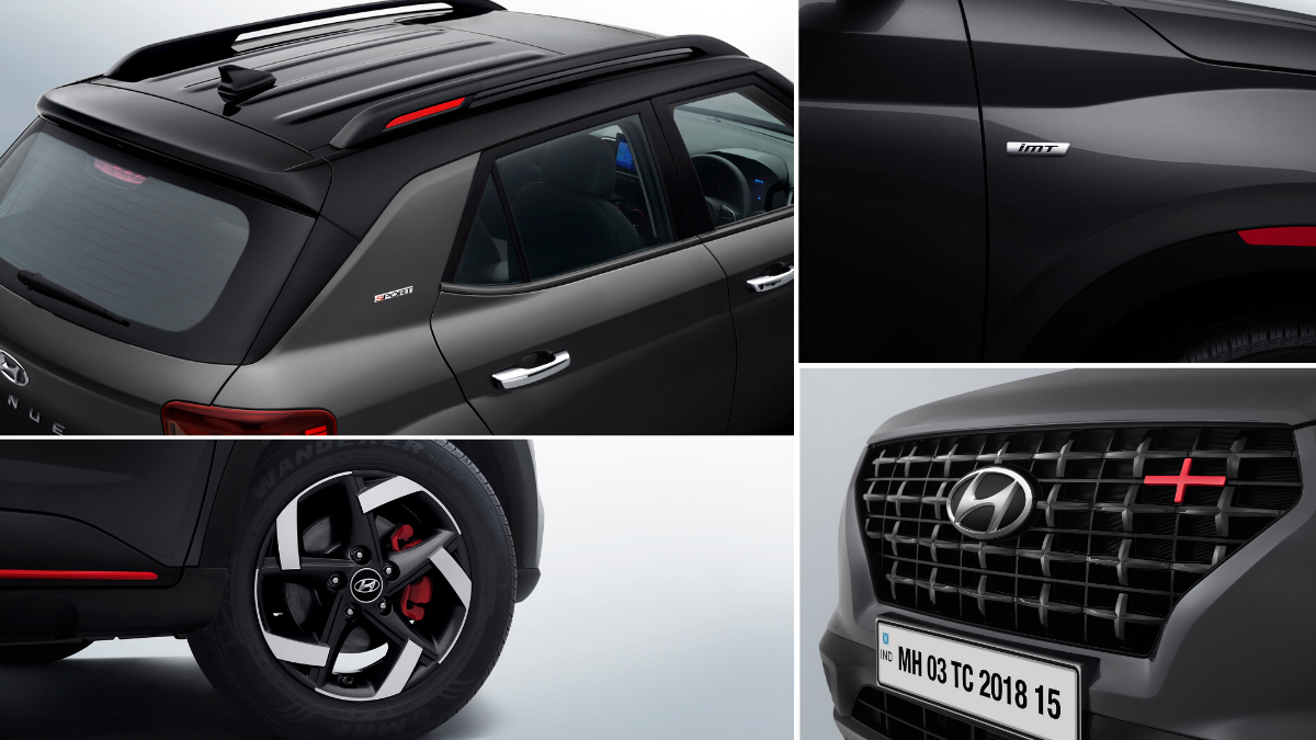 Almost every aspects of exterior of venue sports that are updated. Which gives sporty and aggressive look to this car.