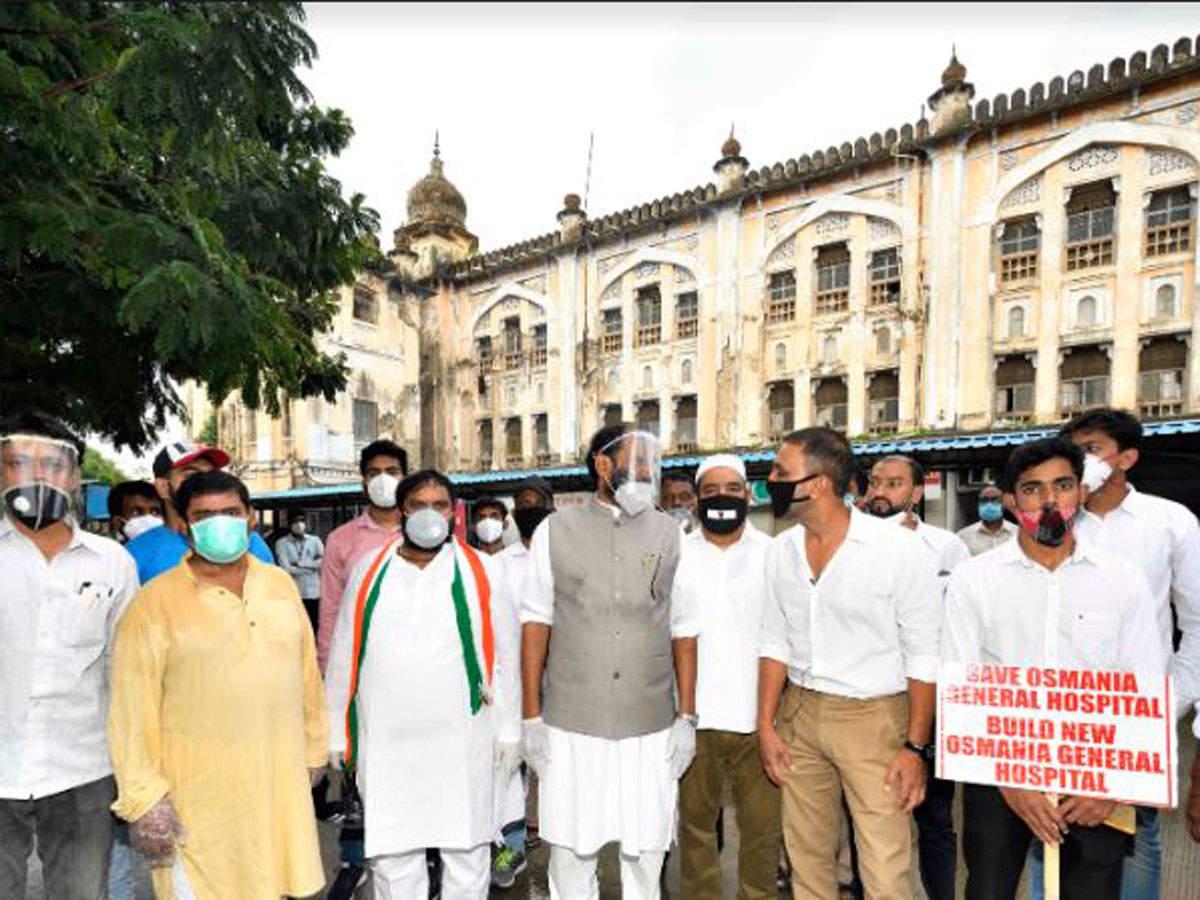 Preserve heritage building of Osmania General Hospital: Telangana ...