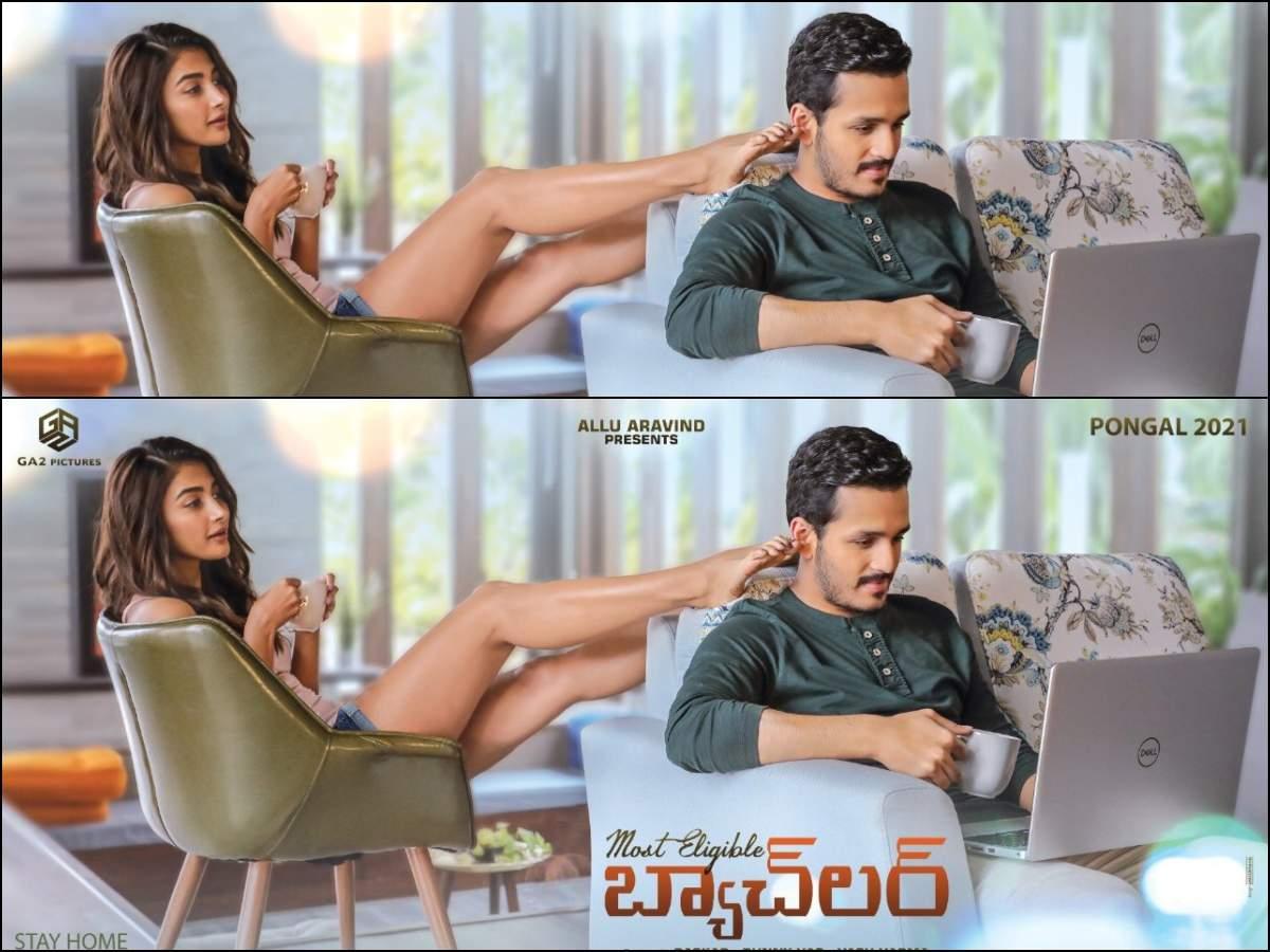 Most Eligible Bachelor' Quarantine Poster: Pooja Hegde'S Wooing Moment With  Akhil Akkineni | Telugu Movie News - Times Of India