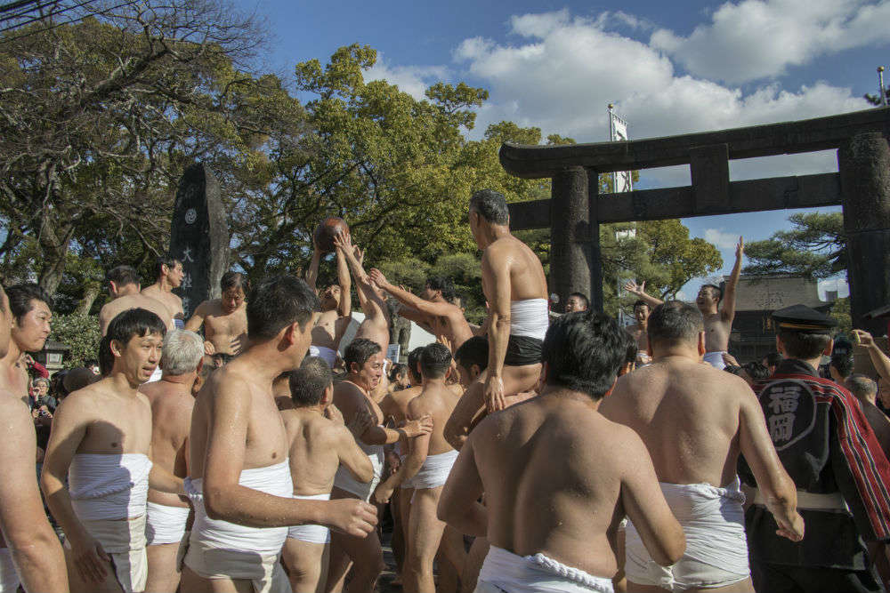 Did you know about Japan's annual Naked Festival?