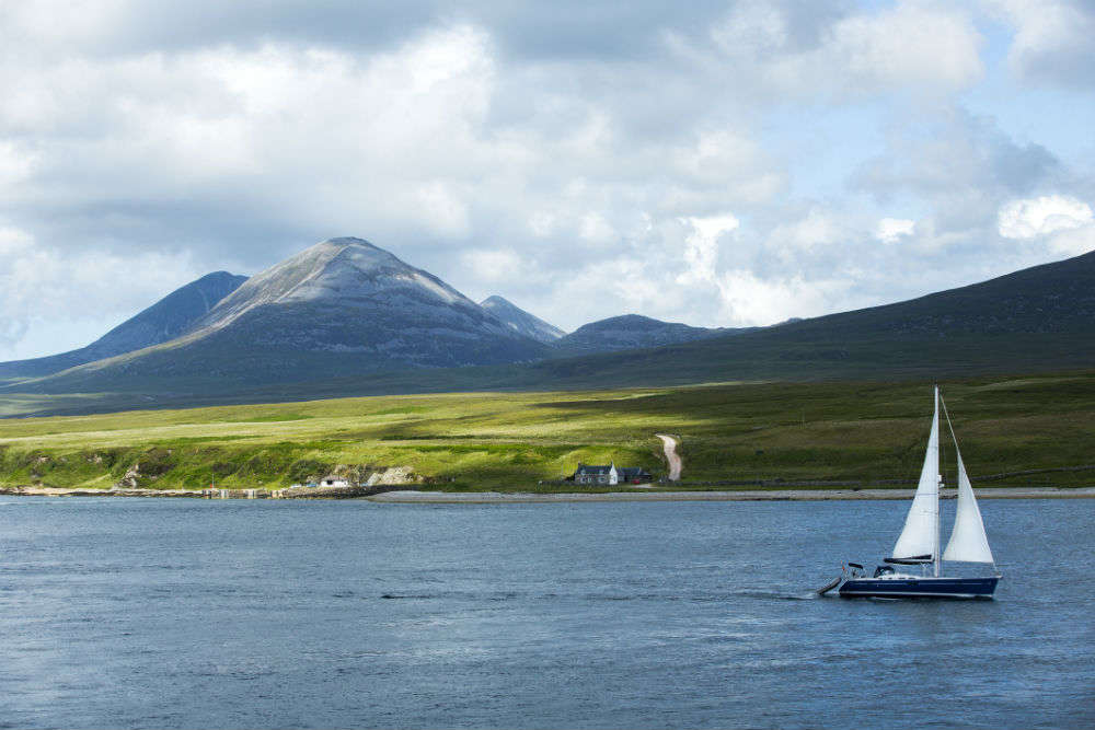 An island in Scotland with 30 people is looking for residents, and you could be one of them