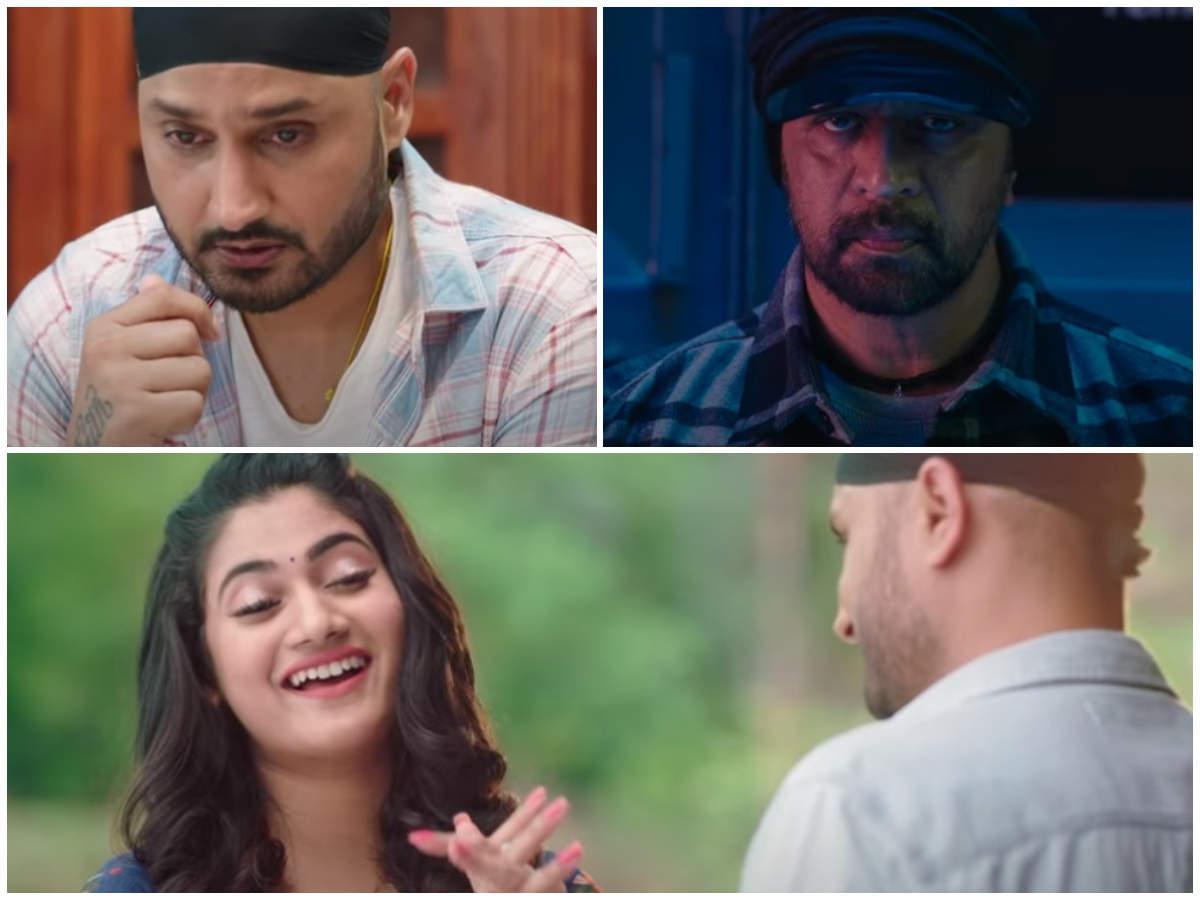 A glimpse of Harbhajan Singh, Losliya's debut film Friendship | Tamil Movie  News - Times of India