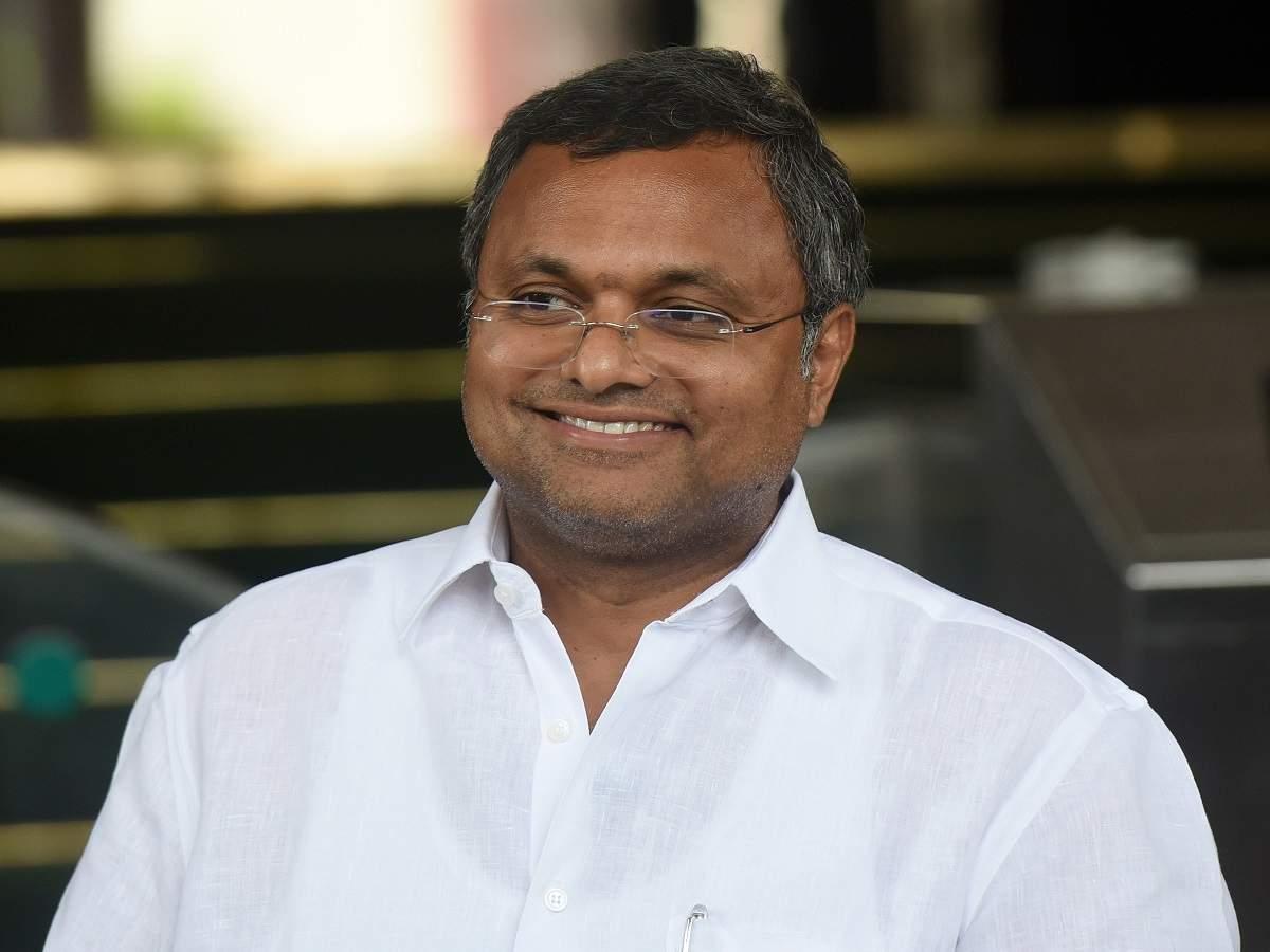 Karti Chidambaram tests Covid +ve