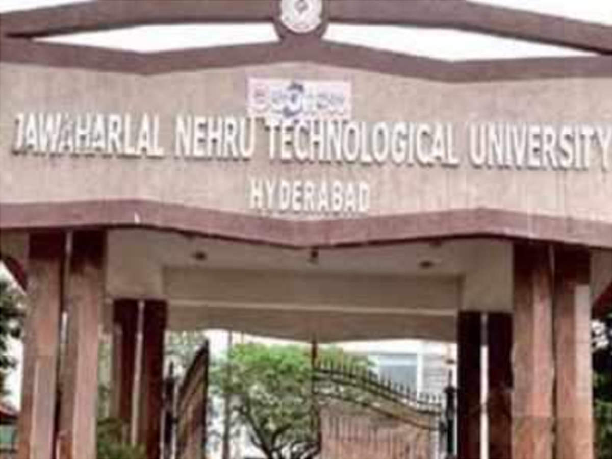 Jntu Introduces Ai And Cyber Security For Btech Hyderabad News Times Of India