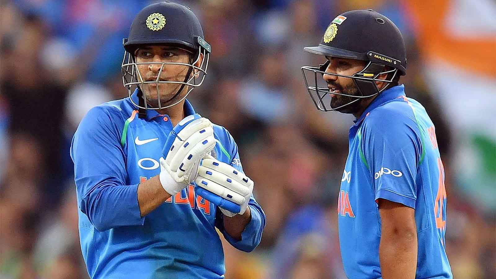 ms-dhoni-is-one-of-a-kind-says-rohit-sharma-on-comparisons-with-former-team-india-captain