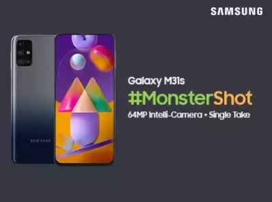 Big Launch: All specs of #MonsterShot Samsung Galaxy M31s revealed! Here's why it's the Best Camera Device