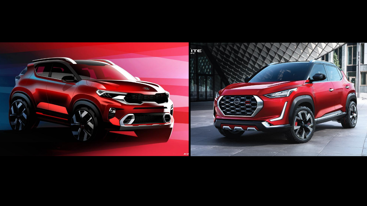 Kia Sonet Vs Nissan Magnite Prices Specifications Design And What Concepts Suggest So Far
