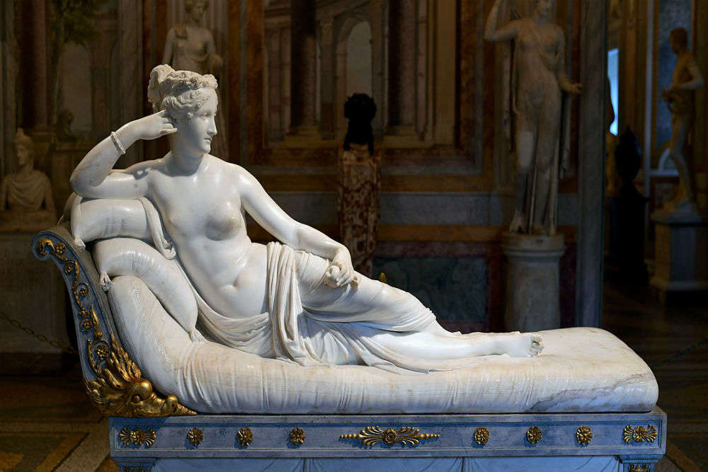 Tourist damages a 200-year-old sculpture in Italy museum after sitting on it for a photograph