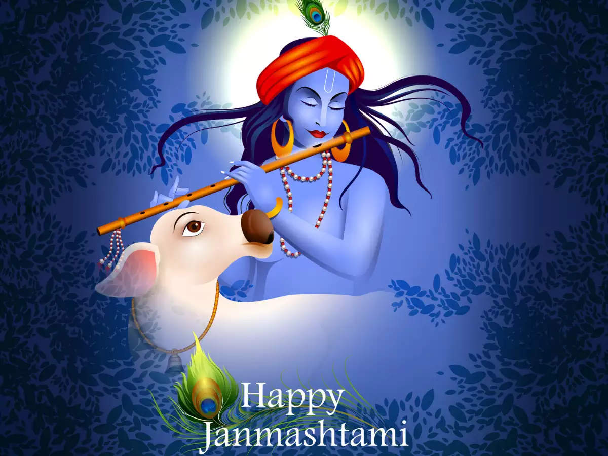 Happy Krishna Janmashtami 2020 Wishes Messages Images Quotes Facebook Whatsapp Status Times Of India