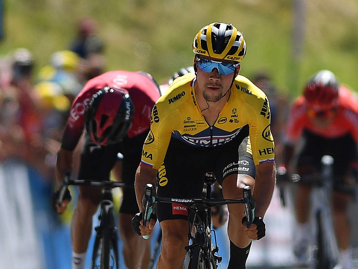 Roglic Fires Bernal Tour Warning With Ain Win More Sports News Times Of India