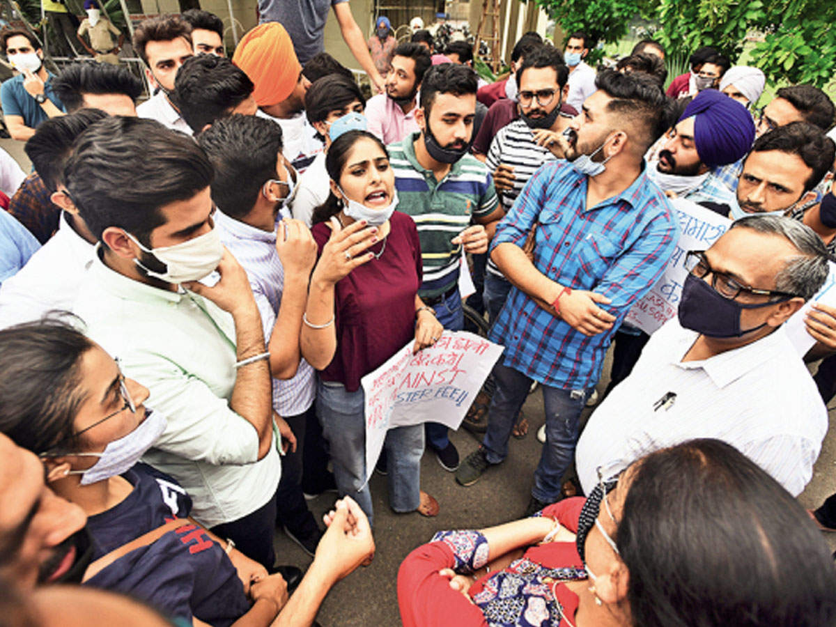Panjab University Scraps Online Classes Till August 31 Extends Fee Date Chandigarh News Times Of India