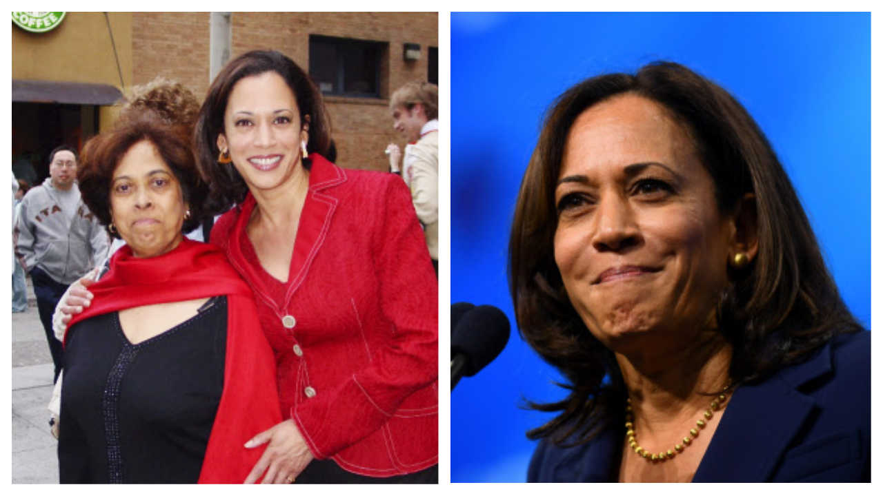 Kamala Harris Sister Tweets Video About Her Indian Connection International Times Of India Videos