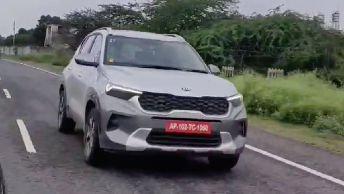 Kia Sonet Launch Kia Sonet Caught Testing On Camera Ahead Of Launch