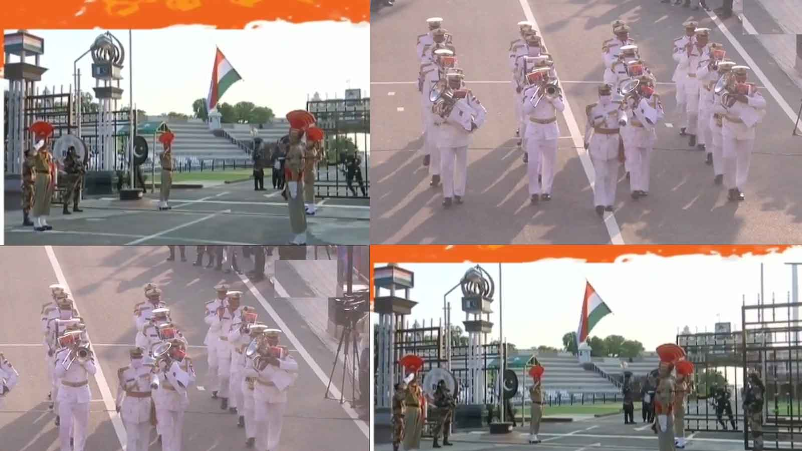 independence-day-2020-beating-retreat-ceremony-at-attari-wagah-border-as-a-part-of-celebrations
