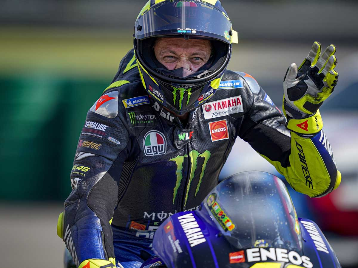 Valentino Rossi Almost Killed Me Valentino Rossi Fumes After Miracle Escape In Austrian Gp Crash Racing News Times Of India