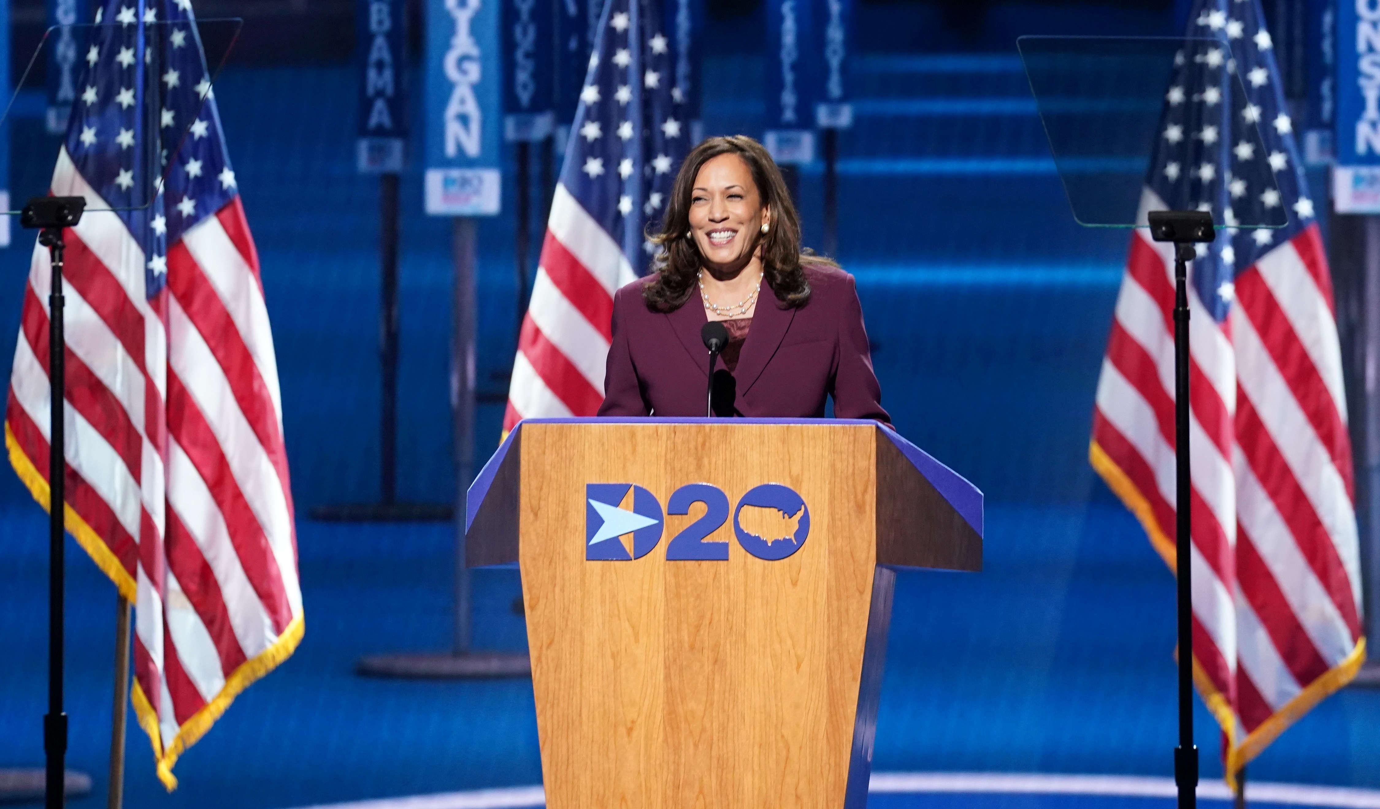 Us President Election 2020 Kamala Harris Formally Nominated As Joe Biden Running Mate World News Times Of India
