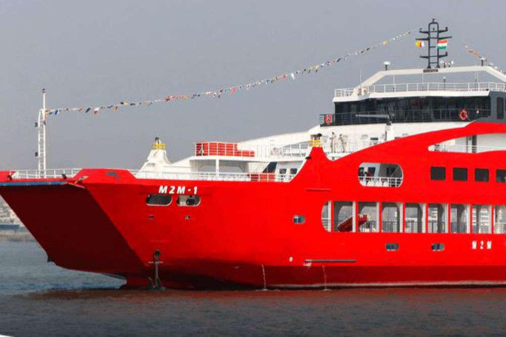 Ro-Ro car ferry service between Mumbai and Alibaug resumes today