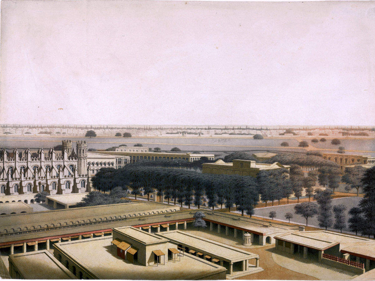 Fort William of Kolkata, and the legend of the Black Hole of Calcutta
