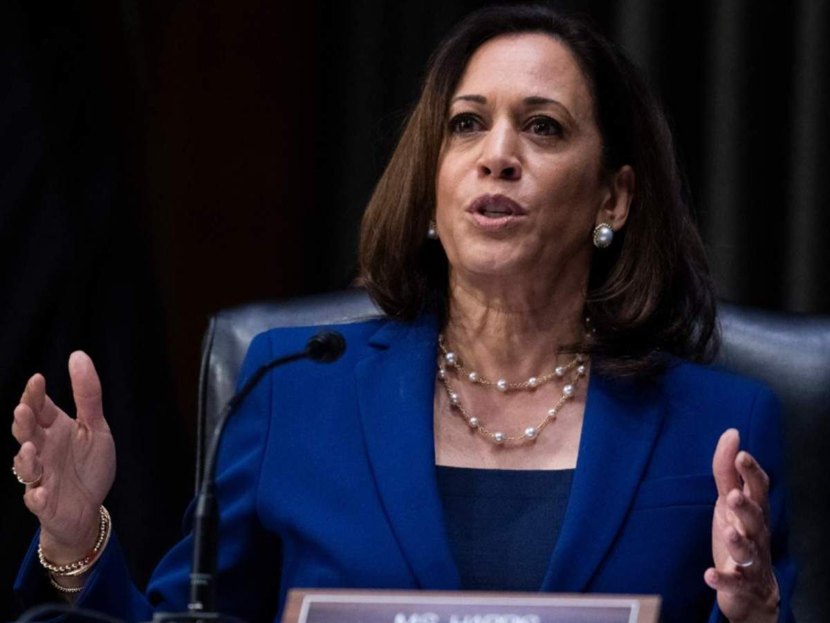 Kamala Harris Republicans Doing Everything To Suppress Voting Rights Of People Of Colour World News Times Of India
