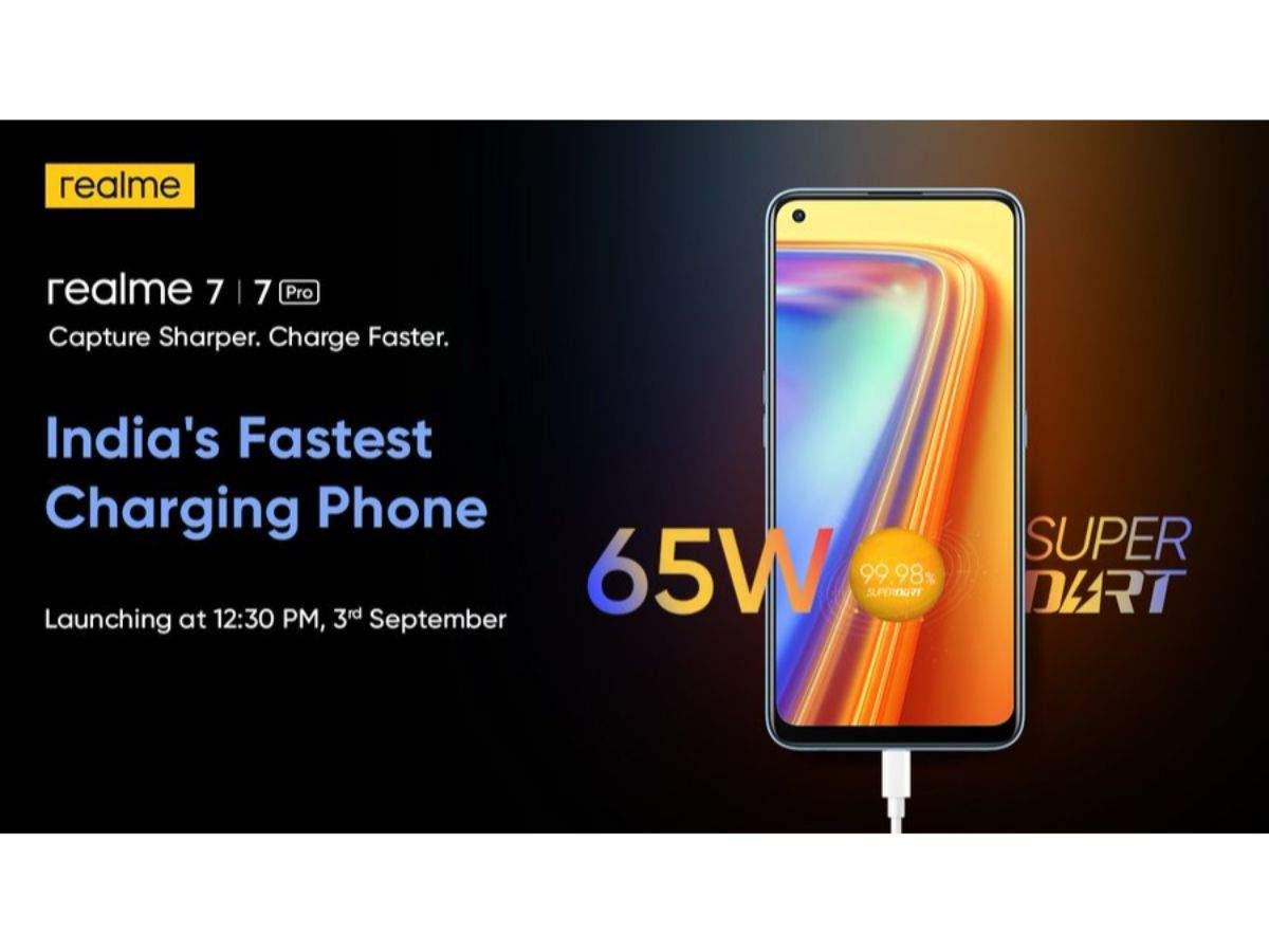Realme 7 Pro Launch Date Realme Announces Launch Date Of Realme 7 And Realme 7 Pro In India Times Of India