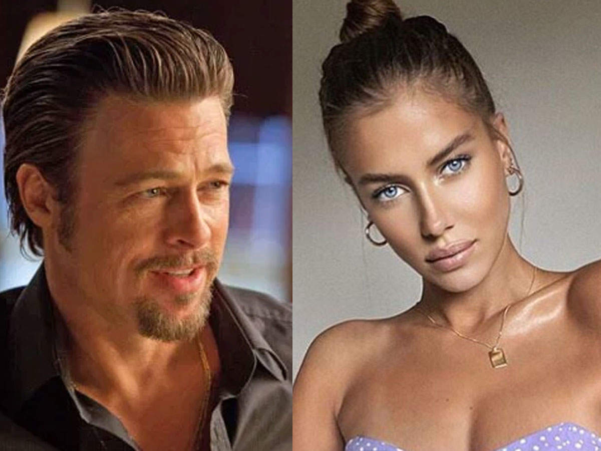 Brad Pitt And German Model Nicole Poturalski Spark Romance Rumours After Being Spotted Together In France English Movie News Times Of India