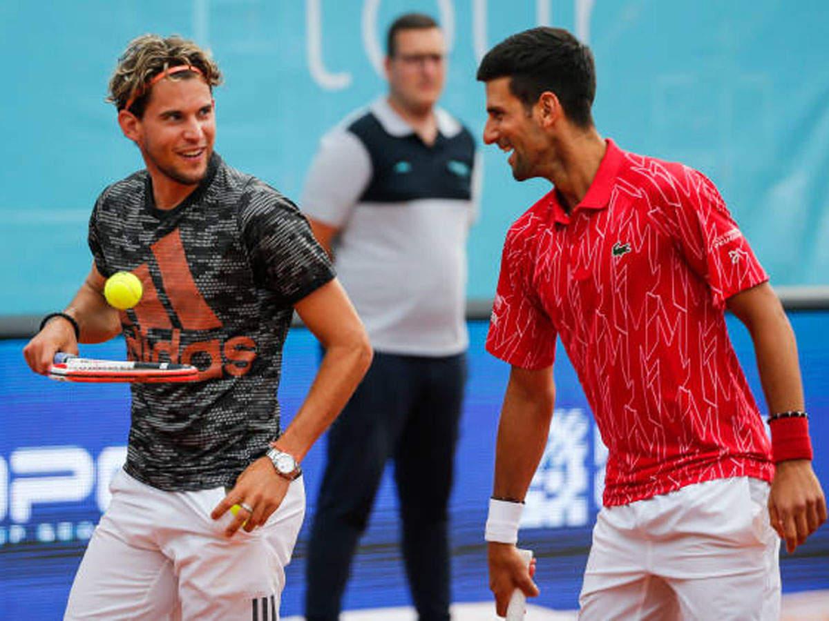 Novak Djokovic Could Face Alexander Zverev In Semis Dominic Thiem In Us Open Final Tennis News Times Of India